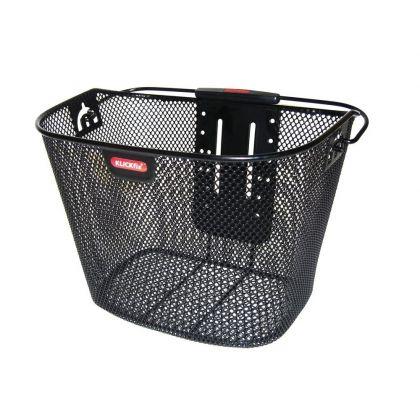 Korb Klickfix VR abnehmbar schwarz-grau