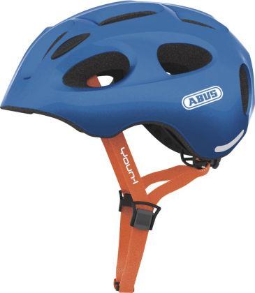 ABUS YOUN-I sparkeling blue ZoomLite Bikehelm