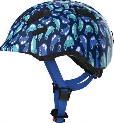Abus Smiley 2.0 blue car ZoomPlus Bikehelm