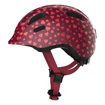 Abus Smiley 2.0 cherry heart ZoomPlus Bikehelm