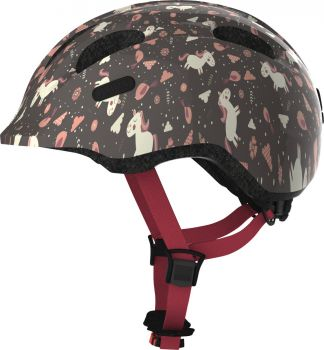 Abus Smiley 2.0 rose horse ZoomPlus Bikehelm