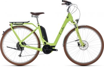 Cube Elly Ride Hybrid 2019 RH46 400Wh green black Easy Entry