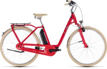 Cube Elly Cruise Hybrid 400Wh 2019 Größe 46 Easy red'n'mint