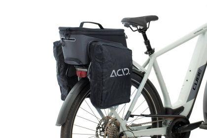 ACID Trunk Fahrradtasche 8+7 L Rlink Gepäckträgertasche