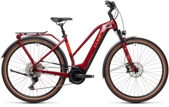 Cube Touring Hybrid EXC 625 Trapez 50 2021 red'n'grey