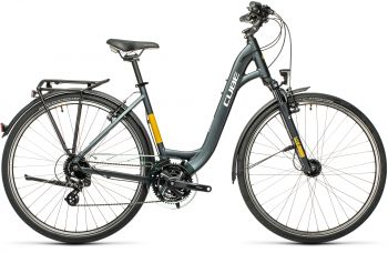 Cube Touring EE 49 cm 2021 grey'n'yellow