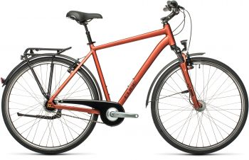Cube Town PRO Gr.58 2021 red'n'grey