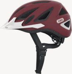 ABUS Urban-I v.2  marsala red ZoomLite Bikehelm