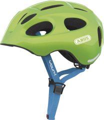 ABUS YOUN-I sparkeling green ZoomLite Bikehelm