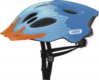 ABUS Aduro diamond blue, green ZoomPlus Bikehelm