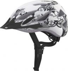 ABUS Urban-I v.2 white flower ZoomLite Bikehelm