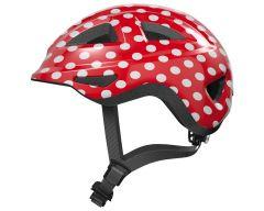 Abus Anuky 2.0 red spots ZoomPlus Bikehelm