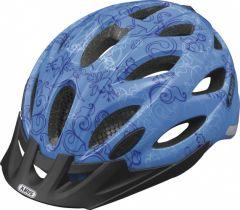 ABUS Lane-U Gr.M garden blue ZoomLite Bikehelm