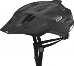 ABUS MountX  velvet black ZoomLite Bikehelm