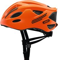 ABUS S-Cension neon orange Fahrradhelm ZoomLite Bikehelm