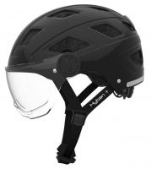 ABUS HYBAN clear visor ZoomPlus Bikehelm