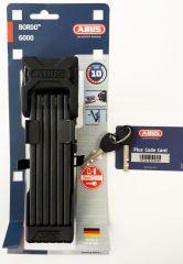 ABUS BORDO 6000 / 90 BK SH Faltschloss