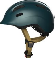 Abus Smiley 2.0 royal green Kinder Fahrrad Helm