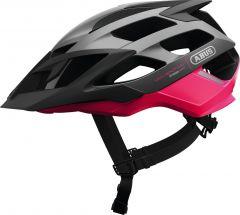 ABUS Moventor fuchsia pink Fahrradhelm