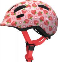 Abus Smiley 2.1 strawberry rose ZoomPlus Bikehelm