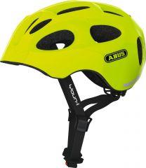 ABUS YOUN-I  neon yellow Fahrradhelm