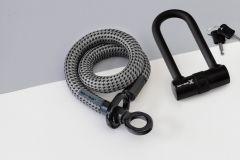 tex-lock eyelet  Schloß Größe S +X-lock80cm NEU mit verbesserter Sägeresistenz