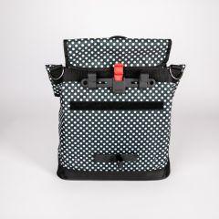 Haberland Shoppertasche Melan I schwarz weiß