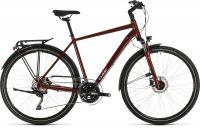 Cube Touring EXC  RH62  2020 red'n'grey