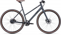 Cube Hyde Race Trapez RH54 black 2021 iridium'n'black