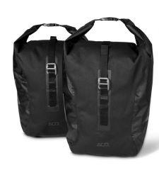 Cube ACID TRAVLR 20/2 schwarz Gepäcktaschen 1 Paar