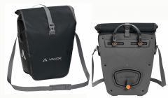 Vaude Aqua Back black 48l Gepäcktaschen Doppelpack
